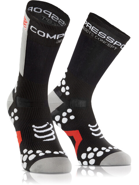 Compressport Racing V2.1 Bike Cykelstrømper grå/sort